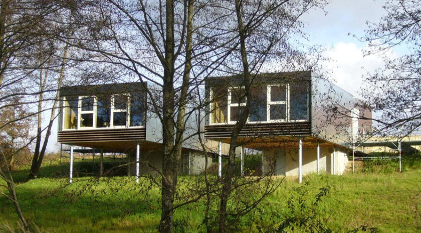 Stéphane Brulet architecte - Maison ECV02 - Vue sur les arbres