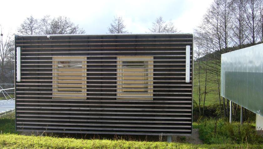 Stéphane Brulet architecte - Maison ECV02 - Façade arrière
