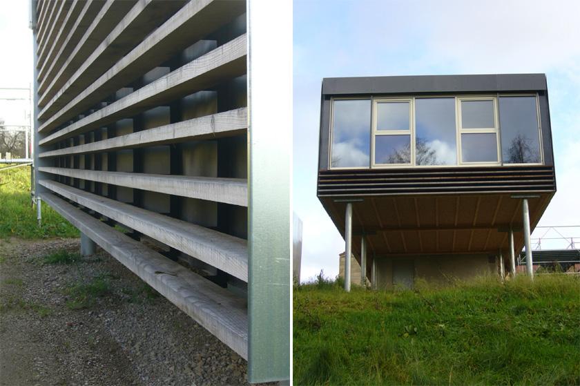 Stéphane Brulet architecte - Maison ECV02 - Détails de façades