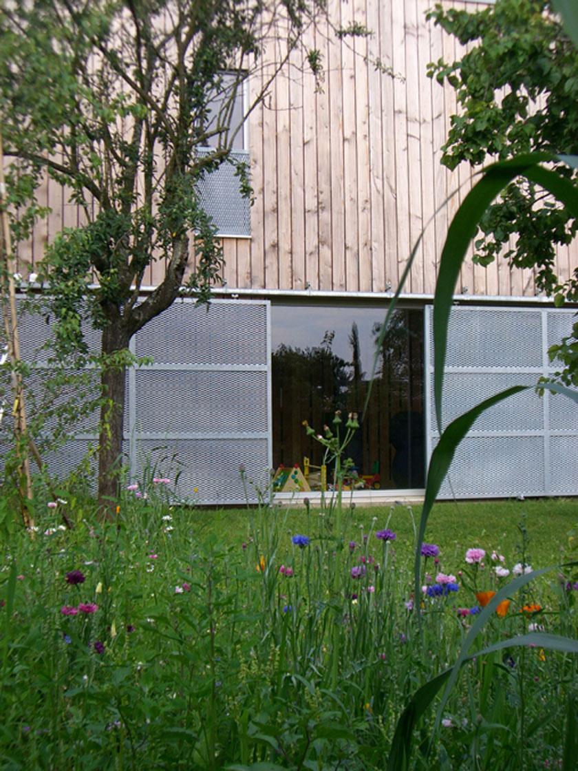 Atelier RVL architectes - Jean-Charles Liddell - Rideaux métalliques du RDC