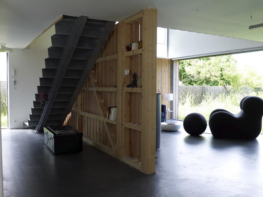 MagicKub Atelier RVL architectes - Jean-Charles Liddell - sous-face Escalier