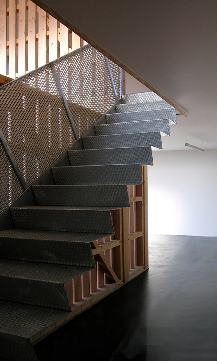 MagicKub Atelier RVL architectes - Jean-Charles Liddell - Escalier