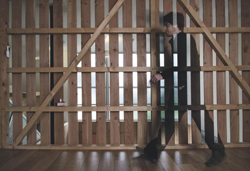 Atelier RVL architectes - Jean-Charles Liddell - MagicKub cloison bois