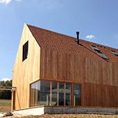Maison bois dans le Lot
