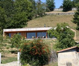 PRAX architectes - Maison bois face aux Pyrénées