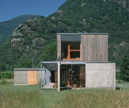Maison P1 - Prax architectes - Inspiration vernaculaire