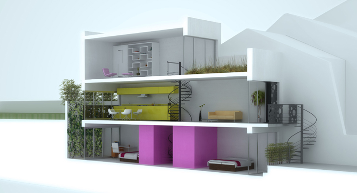 Maison tube suresnes o comment construire sur un for Visualiser une maison