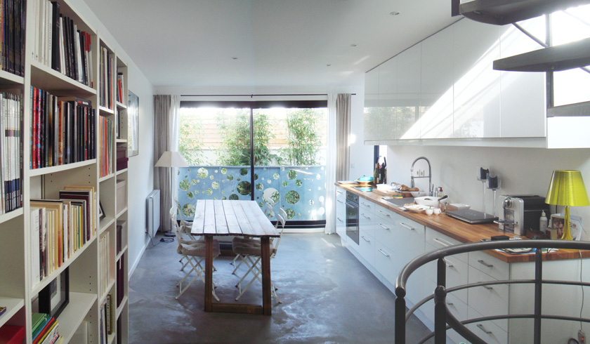 Ajile architectes - Maison Tube - Salle à manger