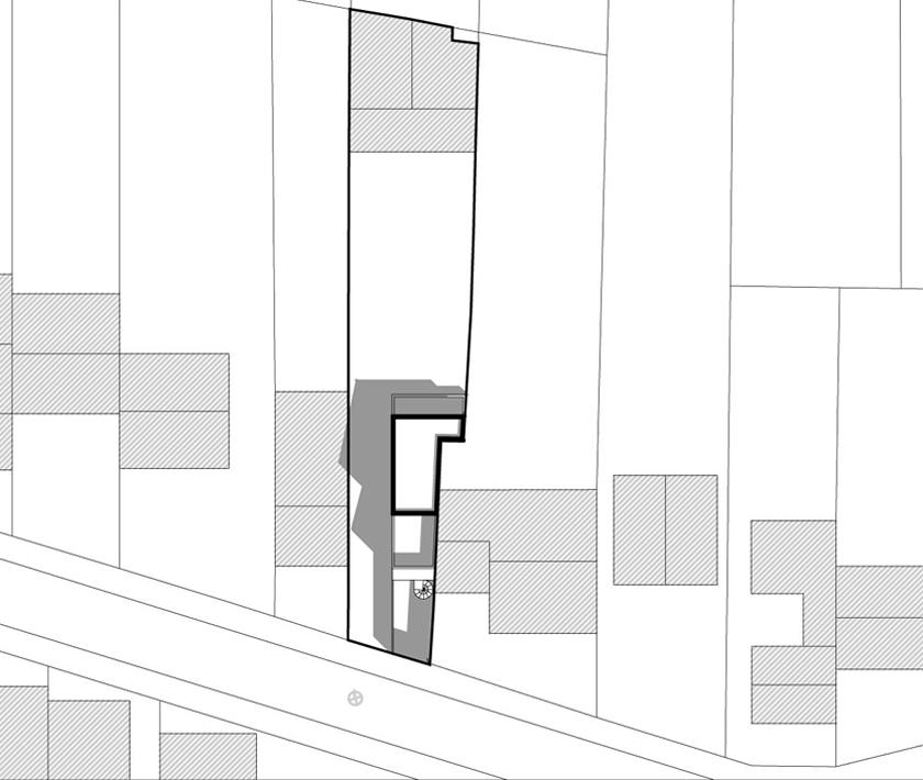 plan maison terrain en longueur gallery of plan de maison la longre en bois rpond toutes les. Black Bedroom Furniture Sets. Home Design Ideas