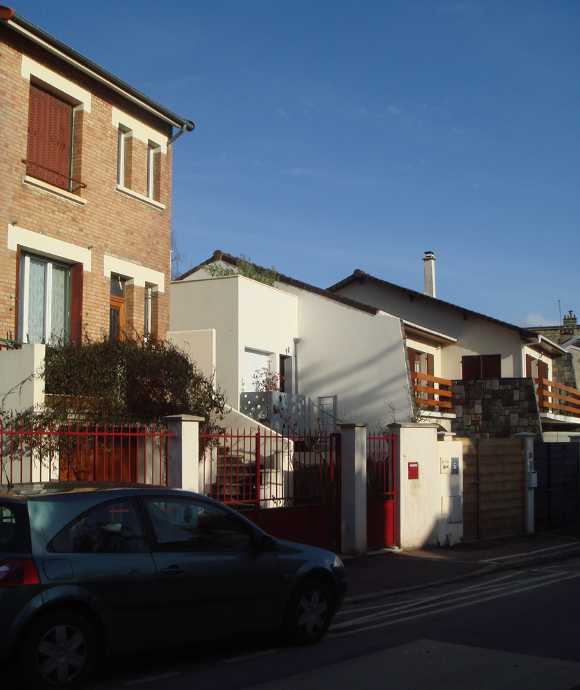 Ajile architectes - Maison Tube - Sur rue