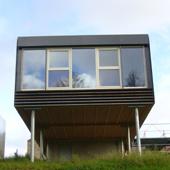 Stéphane Brulet architecte - Maison ECV02 - Pilotis