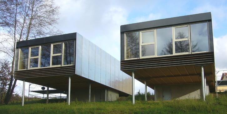 Stéphane Brulet architecte - Maison ECV02 - Pilotis et hauteur