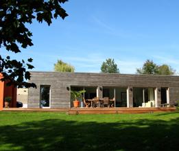 Maison contemporaine en bois à Besançon