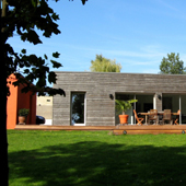 Maison mixte bois-maçonnerie à Besançon - Brulet Stéphane architecte