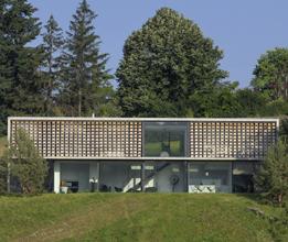 Maison contemporaine dans la région de Lyon