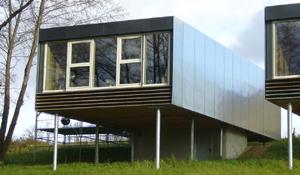 Stéphane Brulet architecte - Maisons ECV02 - Pignon