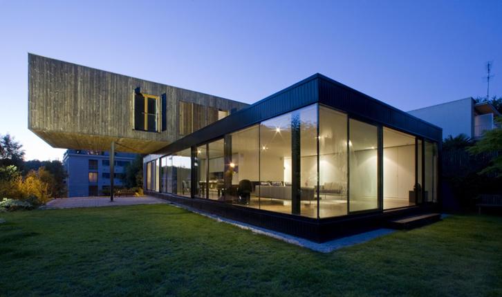 Maison R – CFA Colboc Franzen & associés - Jardin de nuit