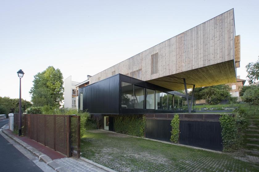 Maison R - Colboc Franzen & associés - Accès extérieure