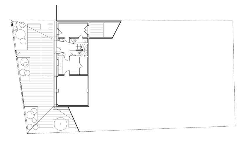 Maison R - Colboc Franzen & associés - Rez-de-chaussée