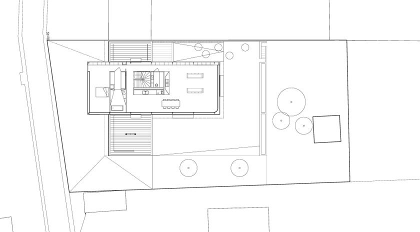 Maison R - Colboc Franzen & associés - Rez-de-jardin