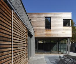 APLA architectes - Laure Pettier – Maison autour d'une piscine