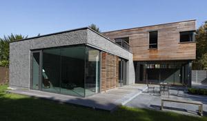 APLA architectes - Maison autour d'une piscine