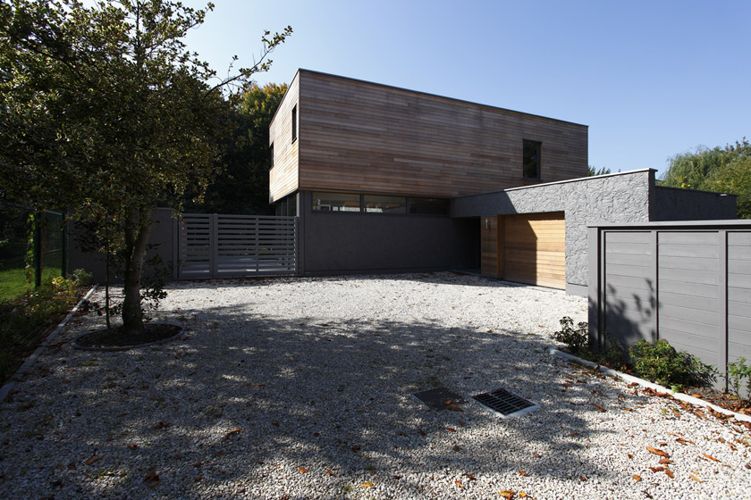 Maison Contemporaine Avec Piscine Int Rieure Apla Architectes
