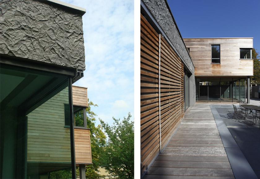 Maison contemporaine avec piscine intérieure - APLA architectes