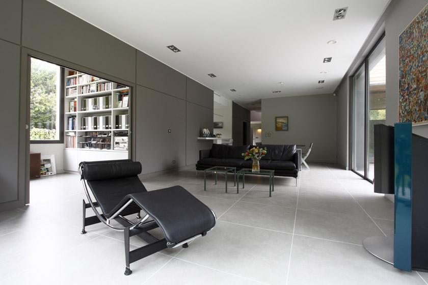 Grands volumes intérieurs - Séjour - APLA architecture - Laure Pettier