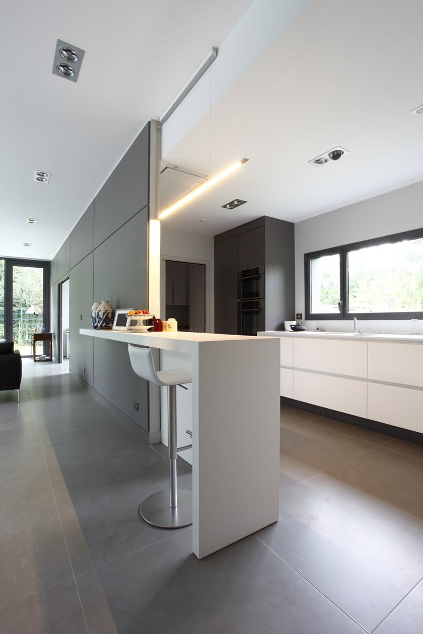 Interieur maison moderne architecte maison moderne - Photo interieur maison contemporaine ...