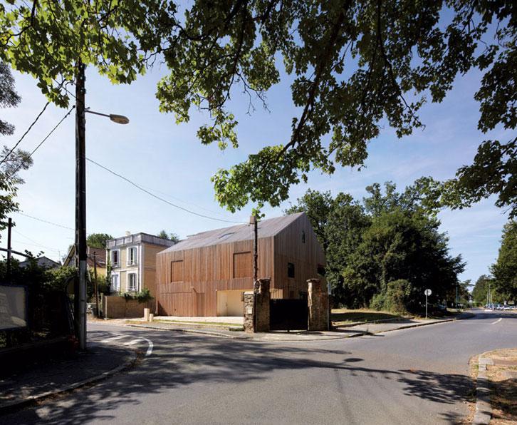 Avenier & Cornejo architectes - Maison2G en zone résidentielle