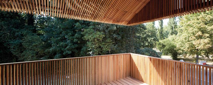 Maison 2G - Avenier & Cornejo architectes - Cadrage de vues