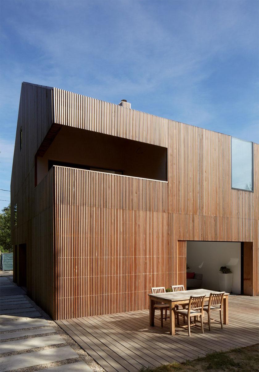 Maison 2G - Avenier & Cornejo - Angle découpé