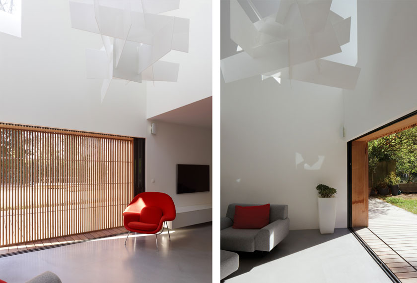Intérieur Maison2G - Séjour double hauteur