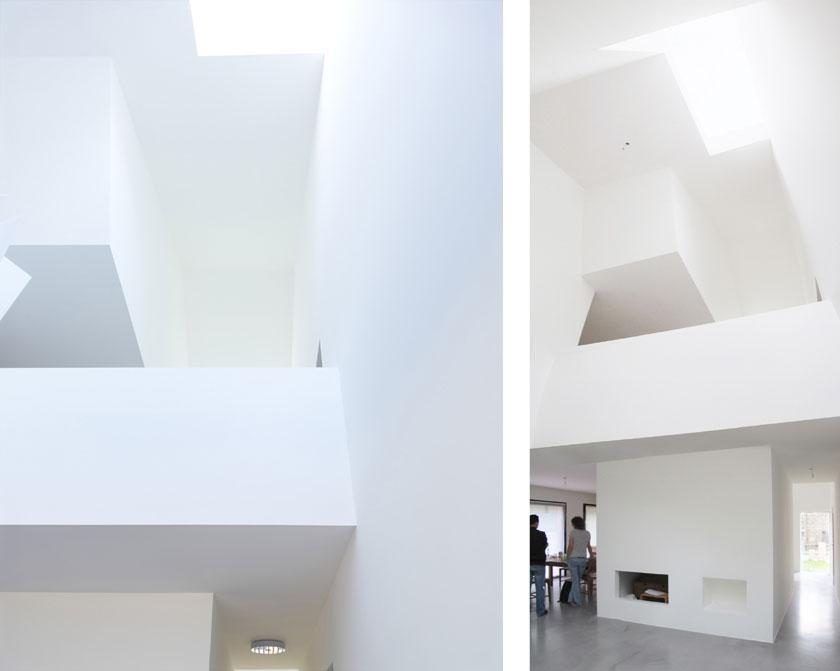 Intérieur Maison2G - Volume sculpté