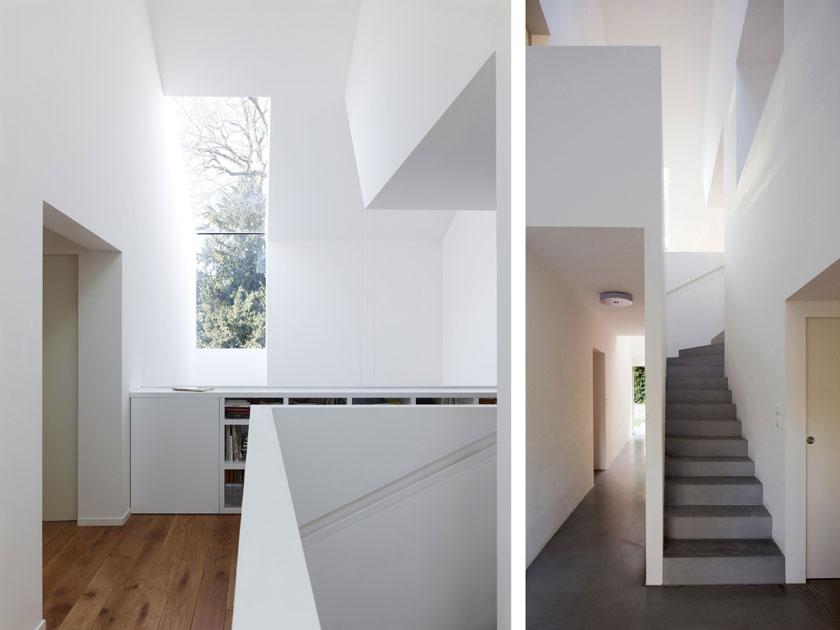 Intérieur Maison2G - Volume d'accès vertical