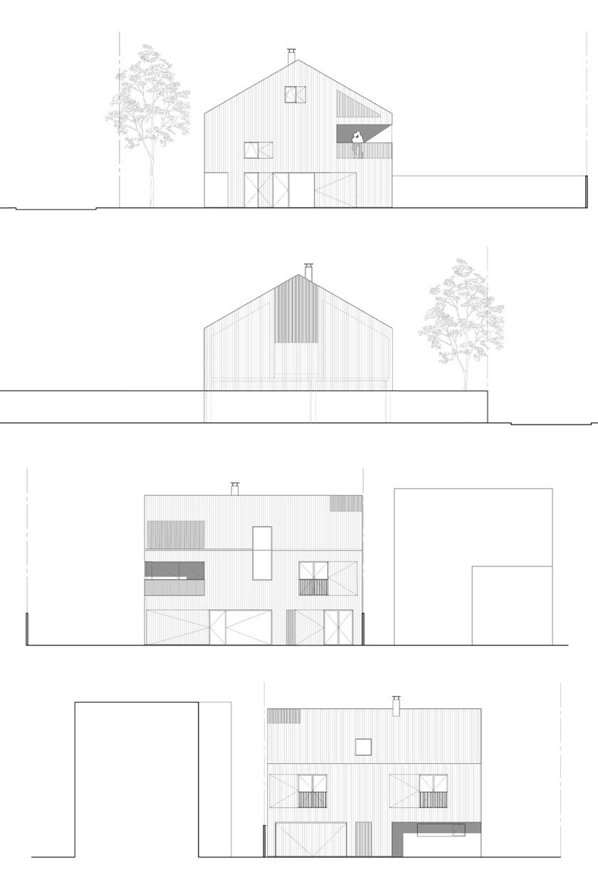 Avenier & Cornejo - Maison 2G - Façades