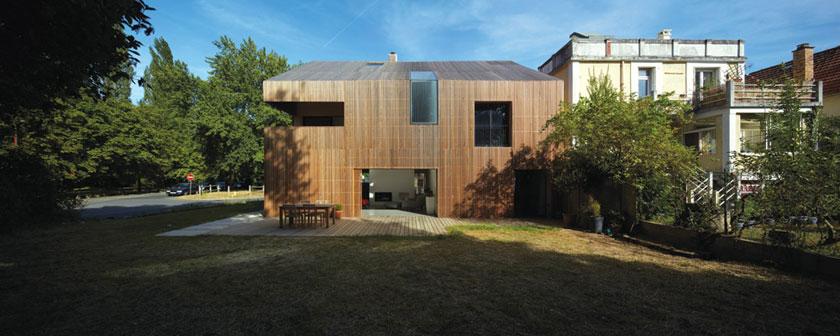 Maison 2G ouverte sur le jardin - Avenier & Cornejo architectes