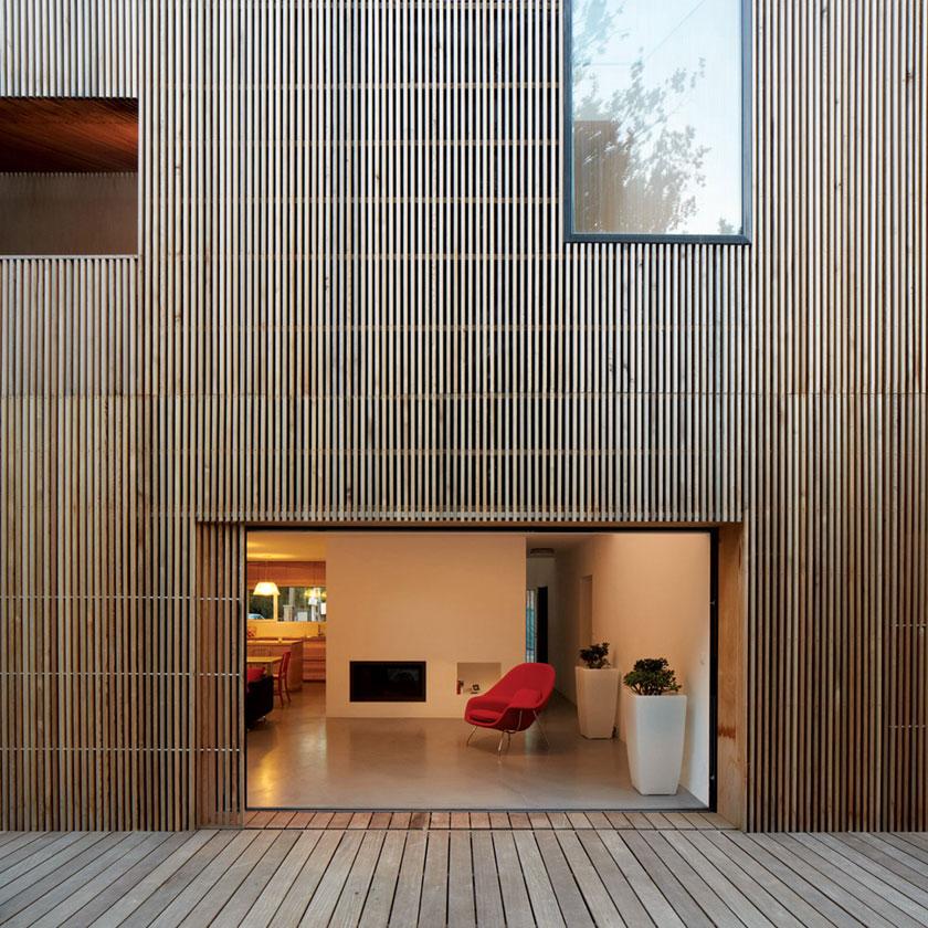 Maison2G - Séjour ouvert sur jardin - Avenier & Cornejo architectes