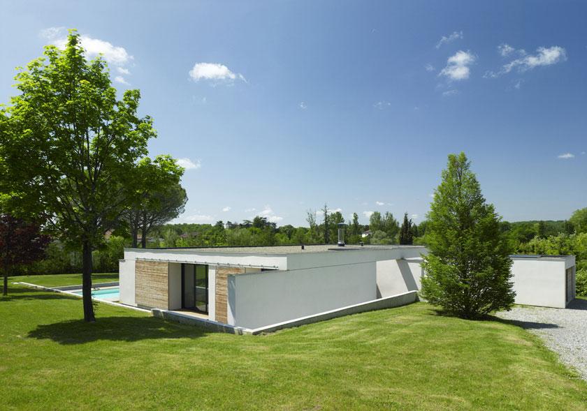 Maison C - Prax architectes - Vue arrière