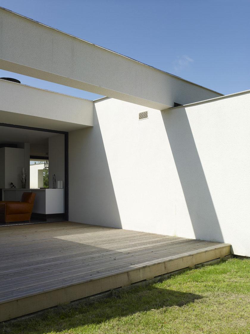 Maison C - Prax architectes - Terrasse protégée
