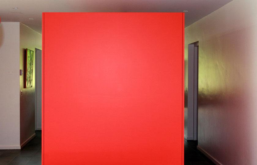 Maison C - Prax architectes - Boîte rouge