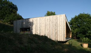 Prax architectes - Maison P3 - Maison ossature-bois