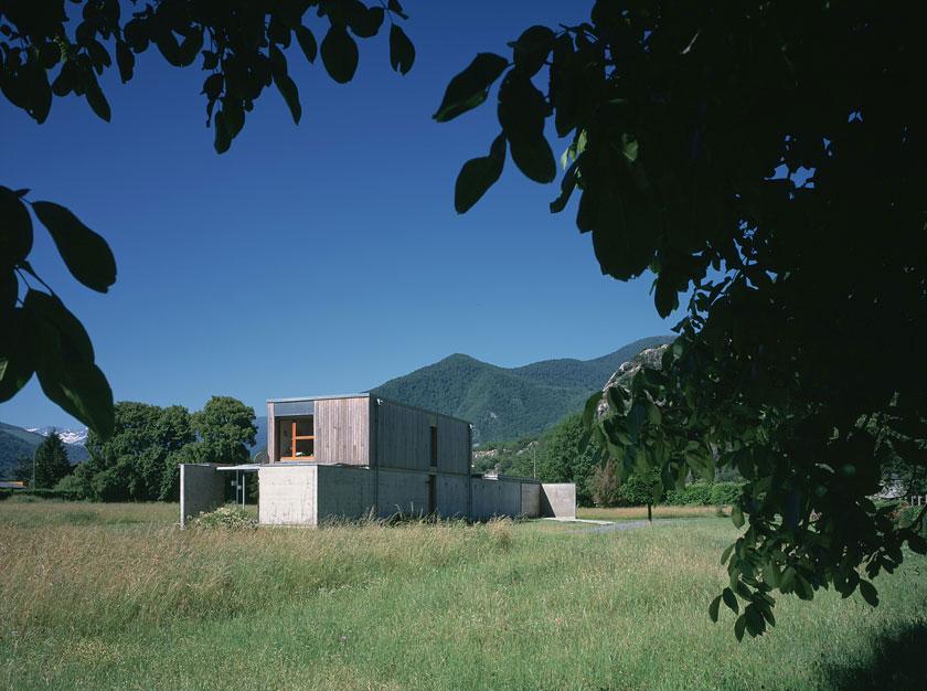 Maison P1 - Prax architectes - Mixité des matériaux