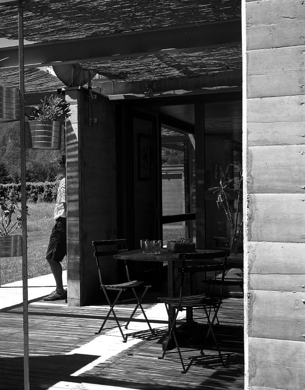 Ambiance zen des terrasses intégrées