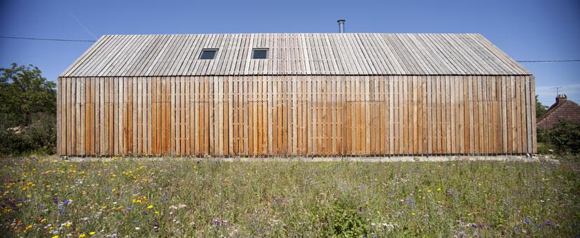 CoCo architecture - Maison Cornilleau - Bardage bois