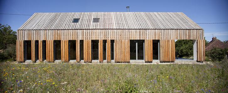 Maison Cornilleau ouverte - CoCo architecture
