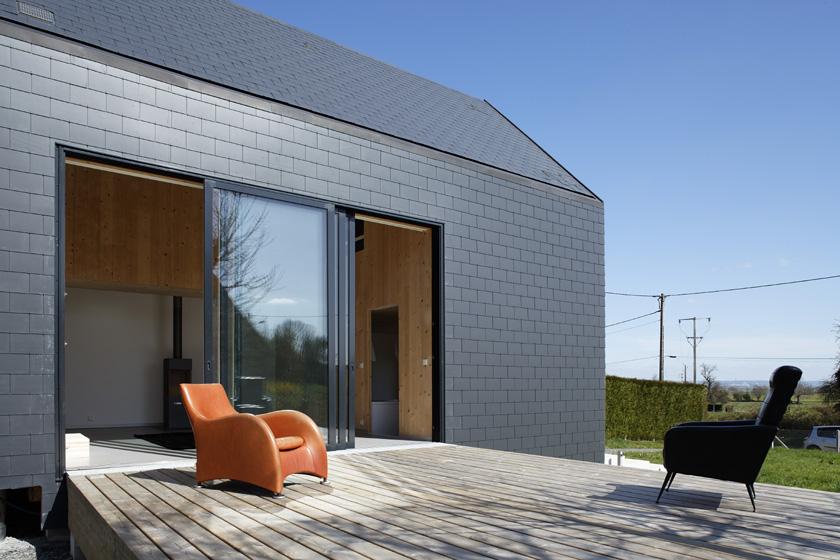 Lode architecture - Terrasse bois Maison G