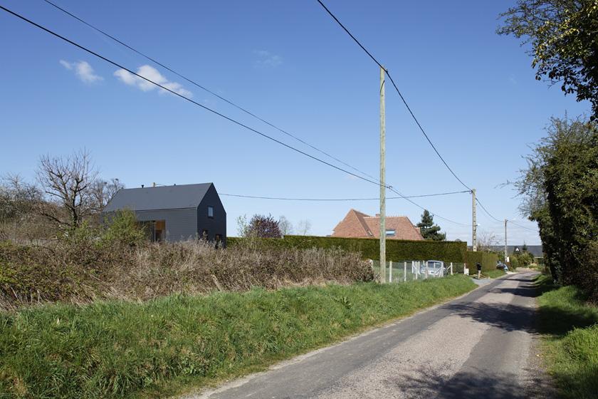 Lode architecture - Maison G vue de la route