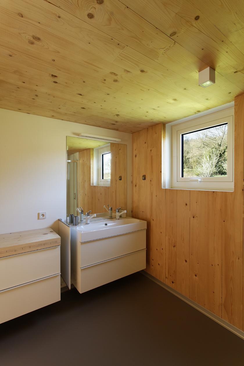 Lode architecture - Salle de bains Maison G
